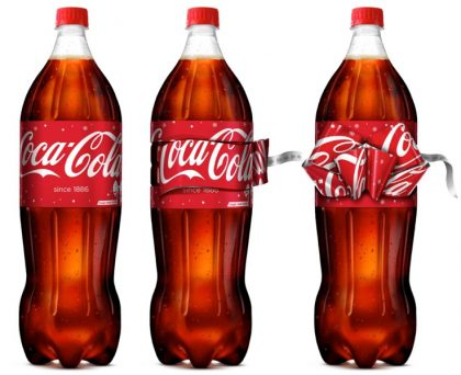 Coca-Cola y su detalle de navidad para el Reino Unido