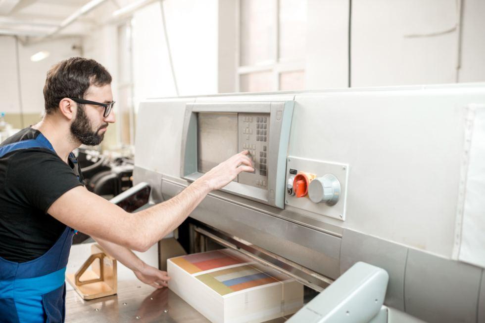 impresión digital móvil